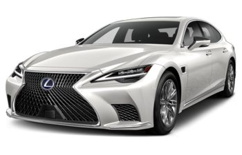 2021 Lexus LS 500h - Eminent White Pearl