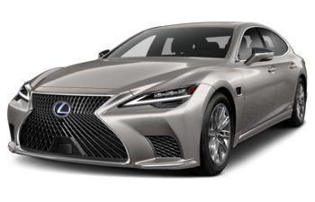 2021 Lexus LS 500h - Silver Illusion