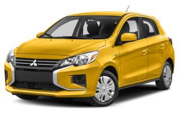 2022 Mitsubishi Mirage - Sand Yellow