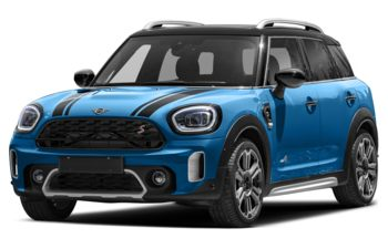 2021 Mini Countryman - Island Blue Metallic