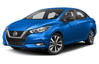 2021 Nissan Versa - Electric Blue Metallic