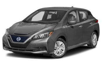 2021 Nissan LEAF - Gun Metallic