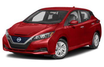 2021 Nissan LEAF - Scarlet Ember Metallic