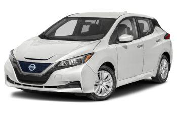 2021 Nissan LEAF - Pearl White