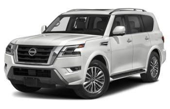 2021 Nissan Armada - Aspen White TriCoat
