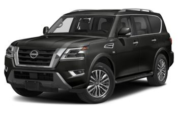 2021 Nissan Armada - Super Black