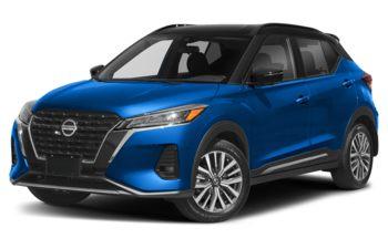 2021 Nissan Kicks - Electric Blue Metallic/Super Black