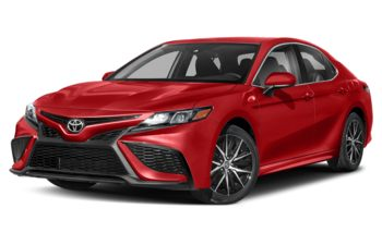 2021 Toyota Camry - Supersonic Red