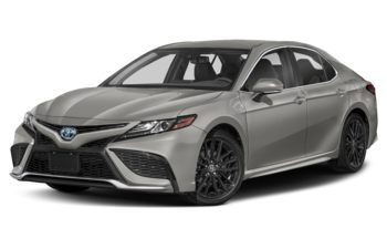 2021 Toyota Camry Hybrid - Supersonic Red