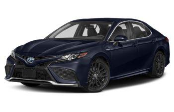 2021 Toyota Camry Hybrid - Celestial Silver Metallic w/Black Roof