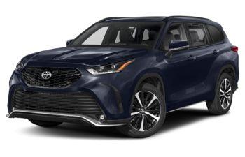 2021 Toyota Highlander - Blueprint