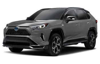 2021 Toyota RAV4 Prime - Silver Sky Metallic w/Black Roof
