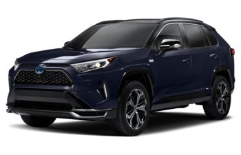 2021 Toyota RAV4 Prime - Blueprint w/Black Roof