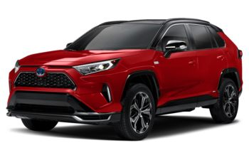 2021 Toyota RAV4 Prime - Supersonic Red  w/Black Roof