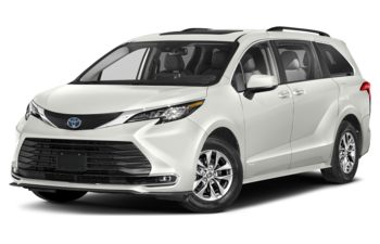 2021 Toyota Sienna - Blizzard Pearl