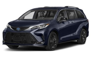 2021 Toyota Sienna - Blueprint