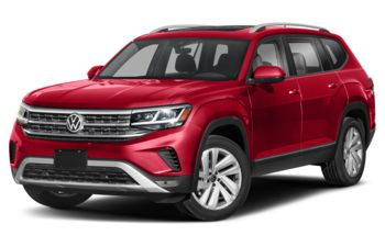 2021 Volkswagen Atlas - Aurora Red Chroma