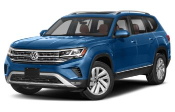 2021 Volkswagen Atlas - Pacific Blue Metallic