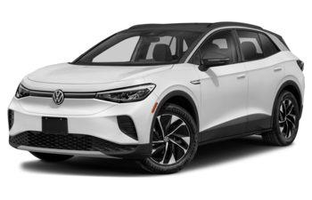 2021 Volkswagen ID.4 - Glacier White Metallic/Ninja Black Roof