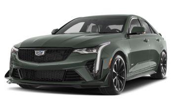 2022 Cadillac CT4-V - Dark Emerald Frost