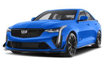 2022 Cadillac CT4-V - Electric Blue