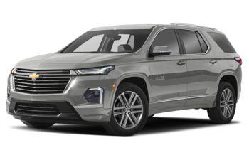 2022 Chevrolet Traverse - Silver Ice Metallic