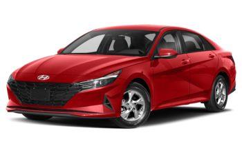 2021 Hyundai Elantra - Fiery Red