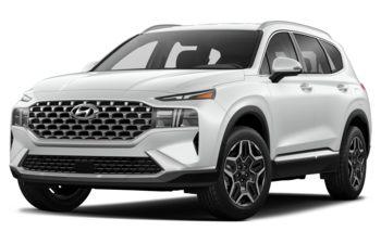 2022 Hyundai Santa Fe Plug-In Hybrid - White Cream
