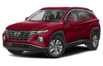 2022 Hyundai Tucson Hybrid - Crimson Red