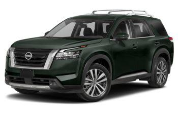 2022 Nissan Pathfinder - Obsidian Green Pearl