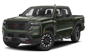2022 Nissan Frontier - Tactical Green Metallic