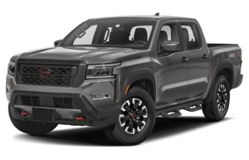 2022 Nissan Frontier - Boulder Grey Pearl