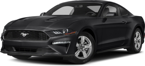 Grey 2020 Ford Mustang