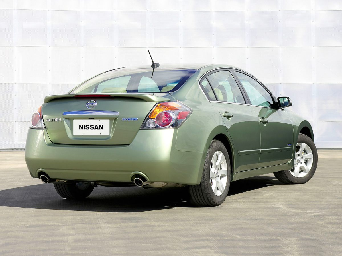 2007 Nissan Altima 4dr Car
