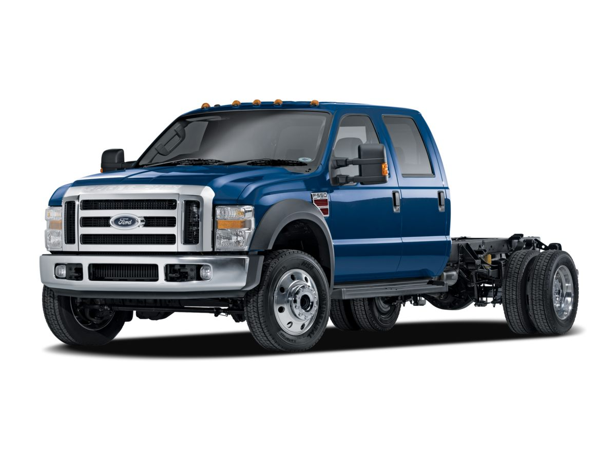 2008 Ford F-550SD Regular Cab Chassis-Cab