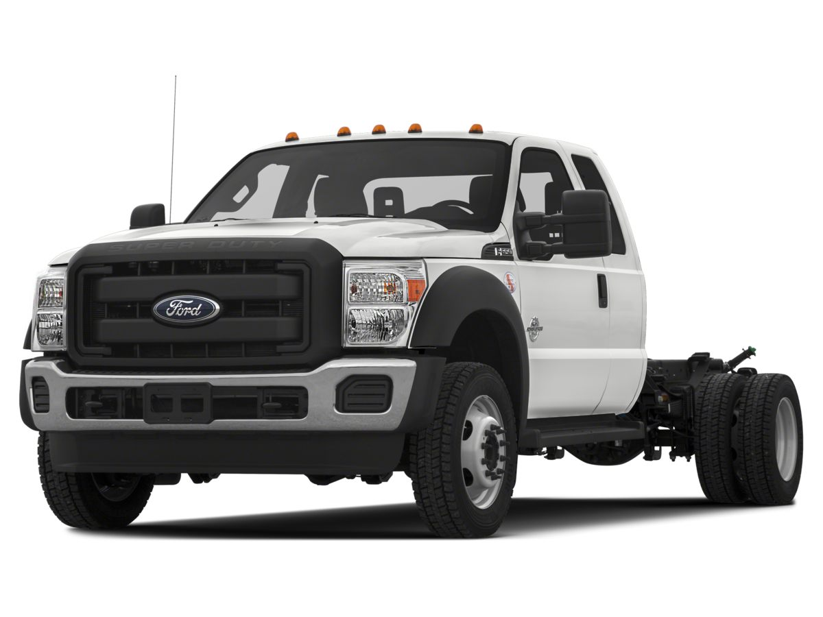 2016 Ford F-550SD Regular Cab Chassis-Cab