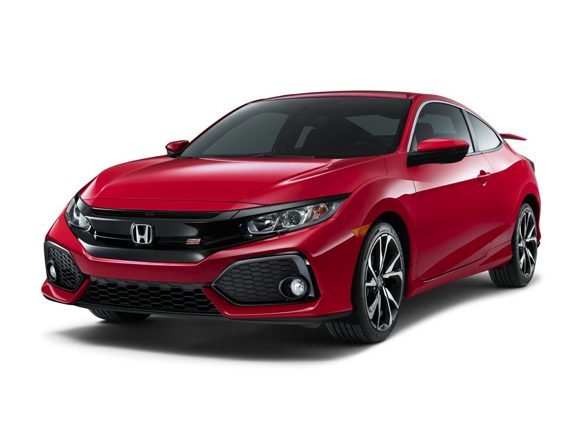 New 2017 Honda Civic Coupe SI Rallye Red / Blk