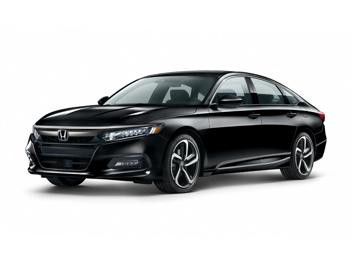 New 2018 Honda Accord Sedan Sport San Marino Red / Blk