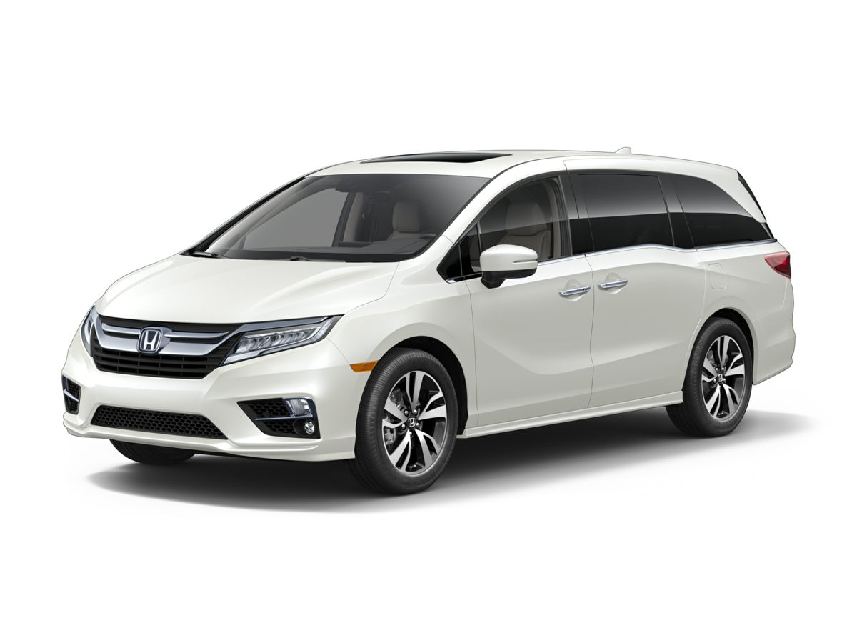 New 2018 Honda Odyssey ELITE White Diamond Pearl / BGE