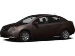 2012 Nissan Sentra 2.0 SL (CVT) Sedan