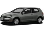 2012 Volkswagen Golf TDI w/Sunroof & Nav