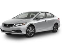 2015 Honda Civic Sedan 4dr CVT EX