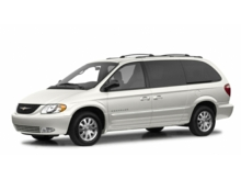 2001 Chrysler Town & Country Limited Golden CO