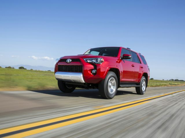 Toyota 4Runner Exterior Red