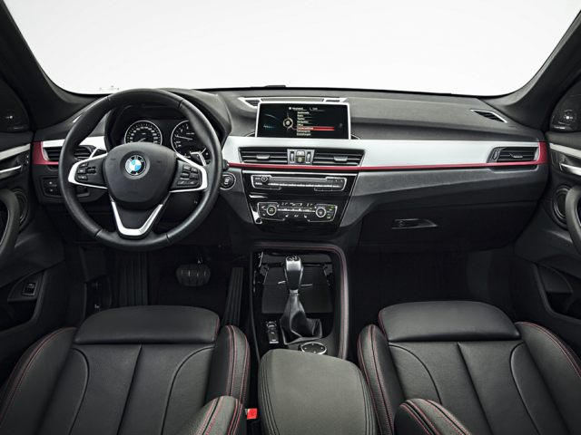 New BMW X1 interior at BMW Northwest near Seattle