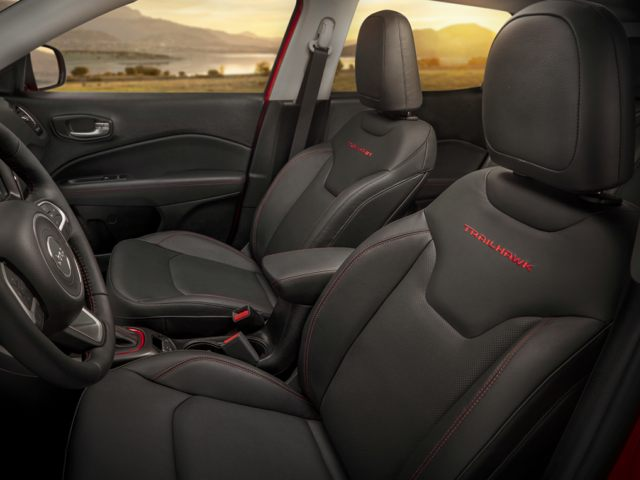 2021 Jeep Compass Front Seat