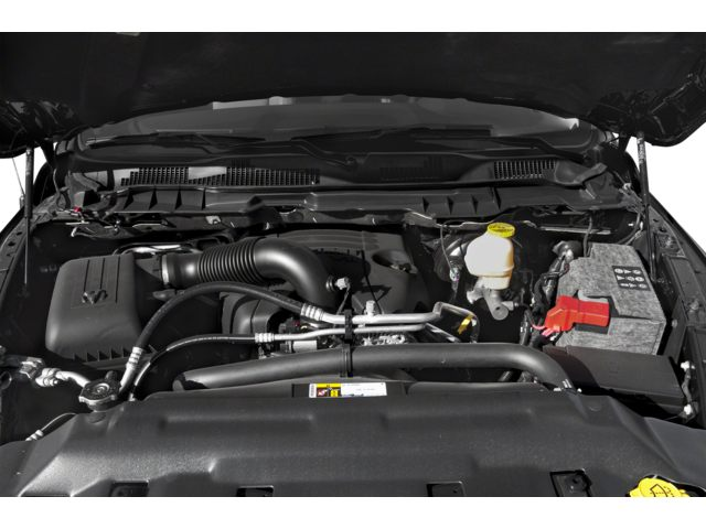 2018 Ram 1500 Longhorn Engine Compartment