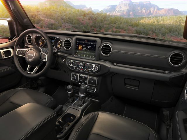 2020 Jeep Wrangler Front Seat