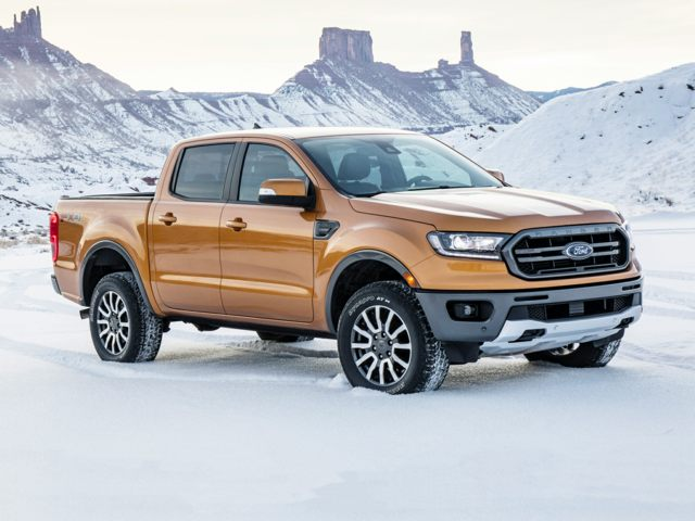 Ford Ranger Exterior in Snow