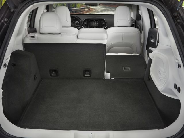 Jeep Cherokee Rear Trunk Storage Space